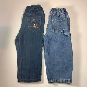 Lot of 2 Boys 2T Jeans